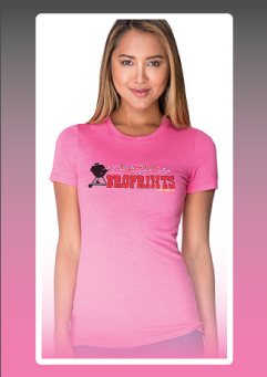 Next Level Apparel Ladies Tri-Blend Crew - 6710 50% polyester 25% cotton 25% rayon 4.3 ounce