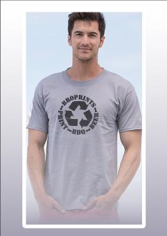 Hanes Beefy T - 5180 Pre-shrunk 100% ring-spun cotton 6.1 ounce t-shirt