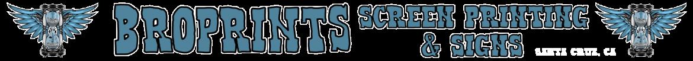 Broprints Screenprinting and Signs Logo