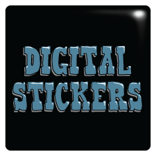 Broprints full color digital stickers
