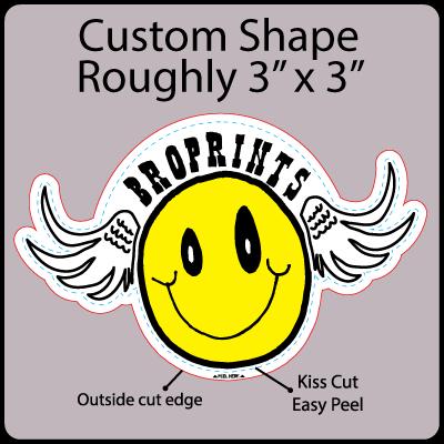 Custom Shape Gangrun Sticker